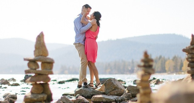 Lauren + Vince - Lake Tahoe Engagement